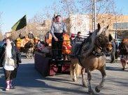 El primer carruatge portava a Sant Antoni Abat