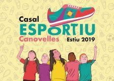 Cartell Casal Esportiu d'Estiu 2019